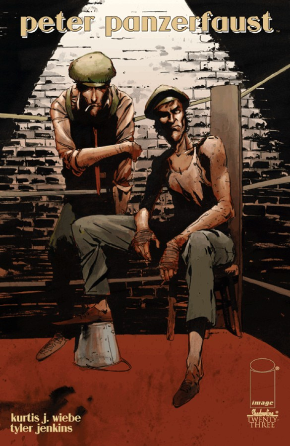PETER PANZERFAUST #12 VF//NM IMAGE COMICS