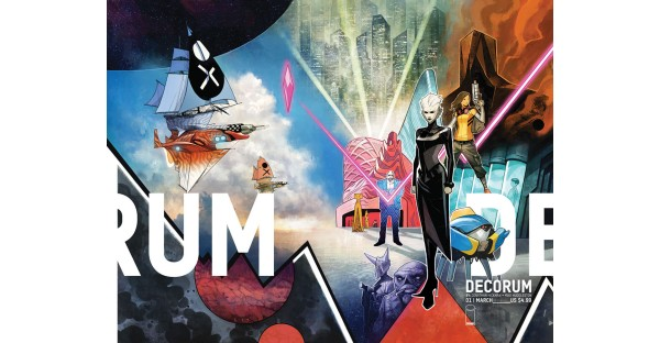 HOT OFF OF HOUSE OF X, JONATHAN HICKMAN & MIKE HUDDLESTON LAUNCH NEW IMAGE COMICS SERIES DECORUM THIS MARCH