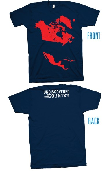 UNDISCOVERED COUNTRY T-SHIRT - S-XL