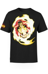FIRE POWER FIREBALL T-SHIRT - 2XL-3XL