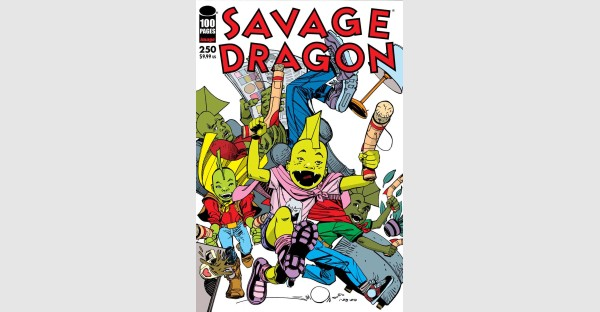 Eye-popping Walt Simonson, Frank Cho, Erik Larsen & Ryan Ottley covers for highly anticipated SAVAGE DRAGON #250 issue revealed