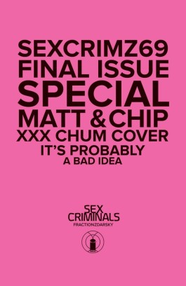 Sex Criminals #69 XXX Variant - Photo Cover