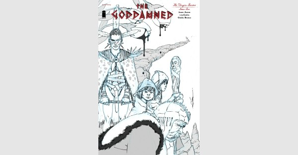 THE GODDAMNED: VIRGIN BRIDES MARRIES VIOLENCE WITH NOIR, RUSHED BACK TO PRINT TO KEEP UP WITH DEMAND