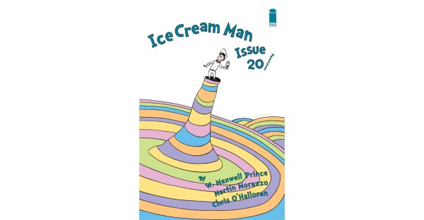 ICE CREAM MAN PULLS SECOND PRINTING OUT OF THE CAT'S HAT