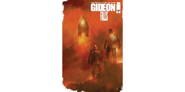 MULTIPLE EISNER AWARD WINNING GIDEON FALLS SERIES WILL KEEP READERS GUESSING UNTIL THE VERY END WITH AN 80-PAGE, SHOW-STOPPING FINALE THIS DECEMBER