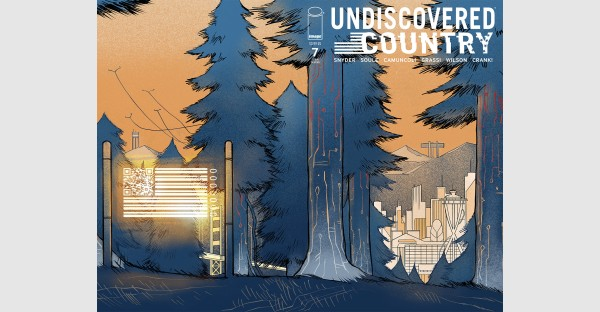 UNDISCOVERED COUNTRY #7 NEW STORY ARC SELLS-OUT AT DISTRIBUTOR, SECOND PRINTING TO FEATURE STUNNING NEW WRAPAROUND COVER BY CAMUNCOLI & GRASSI