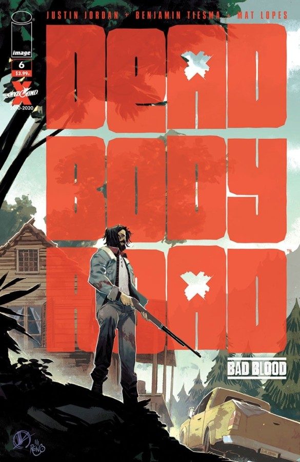 MR PREORDER 4 06//24//2020! OF 6 DEAD BODY ROAD BAD BLOOD #1