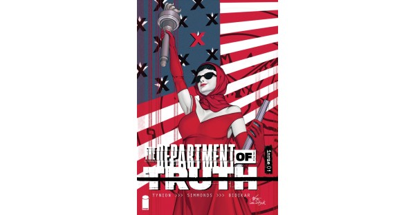 LIMITED 1:25 THE DEPARTMENT OF TRUTH INCENTIVE VARIANT BY INHYUK LEE AVAILABLE AT SELECT COMIC SHOPS— INQUIRE TODAY & REQUEST A COPY
