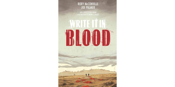 PULP MEETS DEAD EYES IN NEW TRAGICOMIC CRIME SERIES WRITE IT IN BLOOD