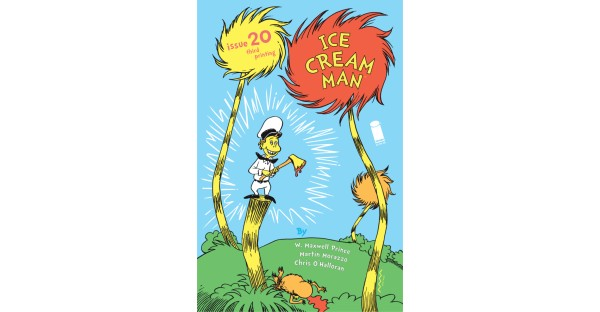RED HOT ICE CREAM MAN RUSHED BACK TO PRINT