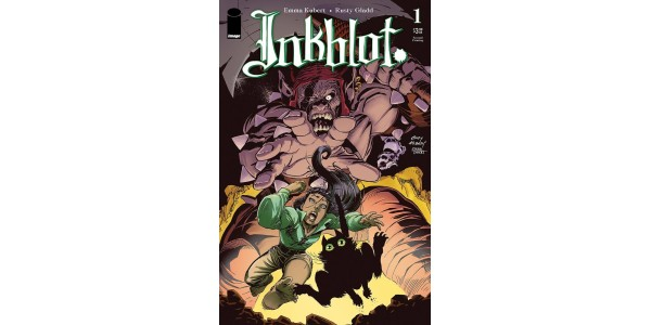ANDY KUBERT COVER REVEALED, INKBLOT AN INSTANT SELL-OUT AT DISTRIBUTOR, RUSHED BACK TO PRINT