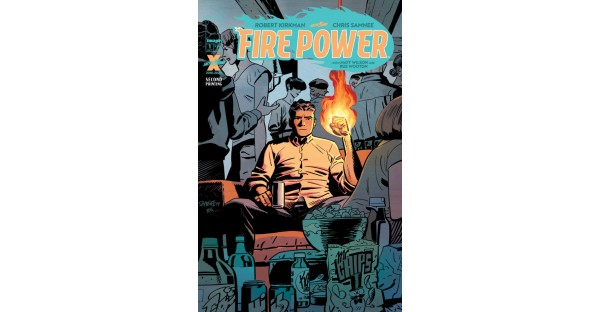 FIRE POWER NAILS DOUBLE SELLOUT, RUSHED BACK TO PRINT
