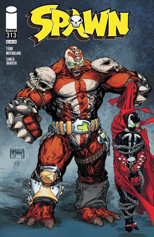 Spawn 313 FIRST APPEARANCE COVER OF PLAGUE SPAWN 313C variant NEW IMAGE COMICS