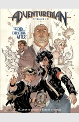 Adventureman, Vol 1: The End And Everything After HC