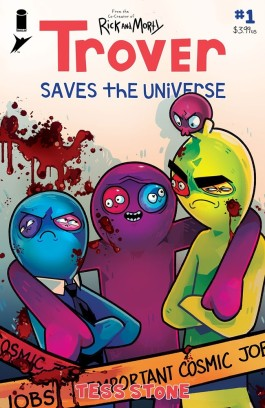 Trover Saves The Universe #1 (of 5)