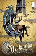 LADY MECHANIKA: THE MONSTER OF THE MINISTRY OF HELL #1 (OF 4)
