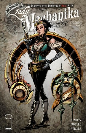 LADY MECHANIKA: THE MONSTER OF THE MINISTRY OF HELL #2 (OF 4)