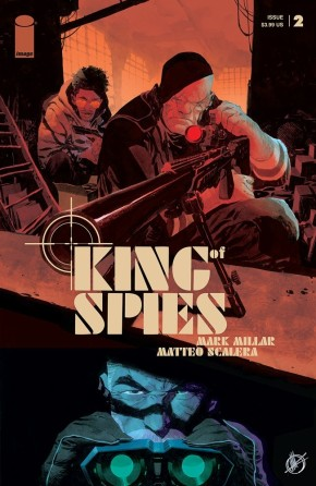 KING OF SPIES #2 (OF 4)