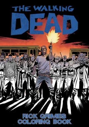 The Walking Dead Rick Grimes Coloring Book