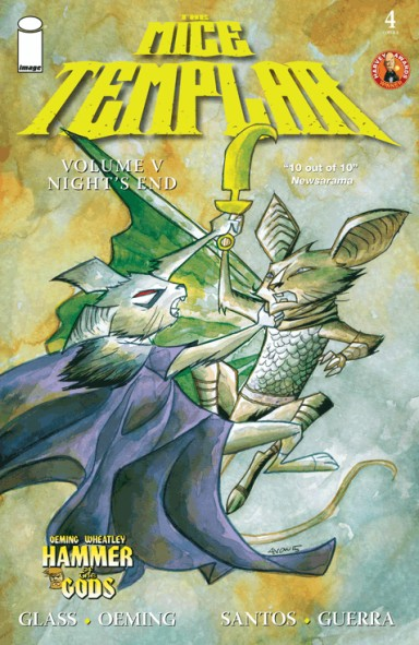 The Mice Templar V: Night's End #4
