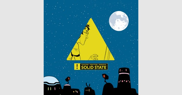 Jonathan Coulton, Matt Fraction, Albert Monteys release SOLID STATE graphic novel