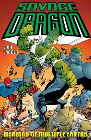 Savage Dragon: Merging Of Multiple Earths TP