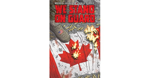 New York Times bestselling miniseries WE STAND ON GUARD hits paperback this April