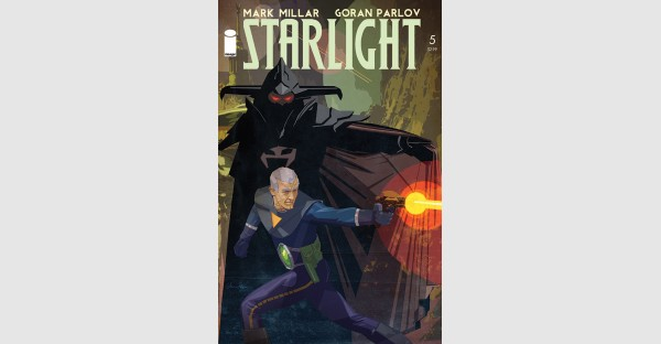 STARLIGHT #5 cover by Tommy Lee Edwards revealed & variant art by Rob Liefeld