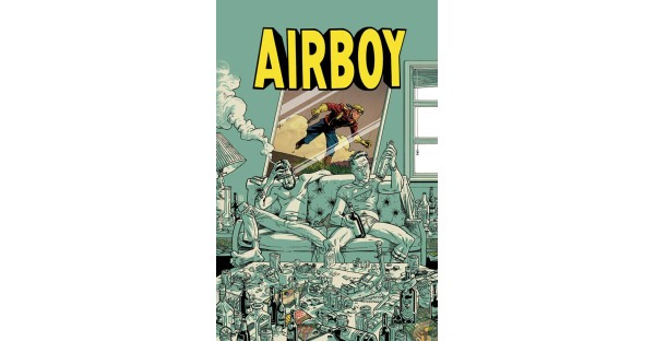 AIRBOY soars in a deluxe hardcover