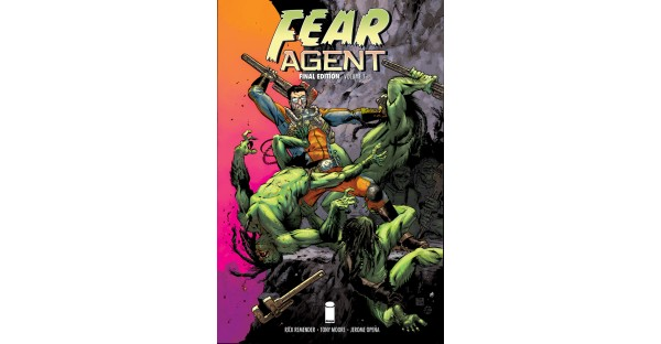 Image Comics to publish FEAR AGENT master editions, bonus content