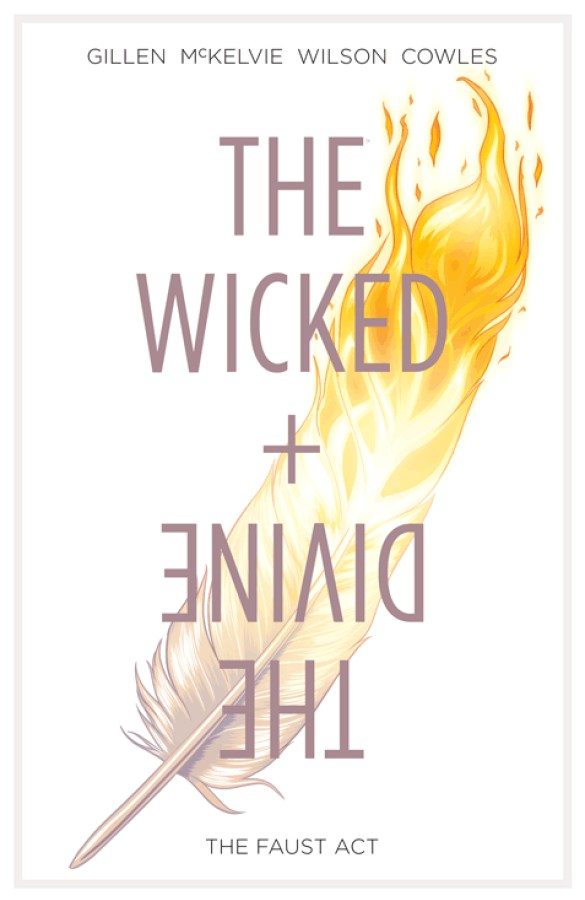 Couverture du comics The Wicked + The Divine