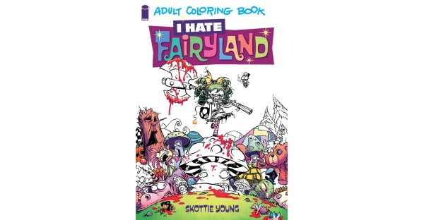 I HATE FAIRYLAND adult coloring book, new story arc on the horizon