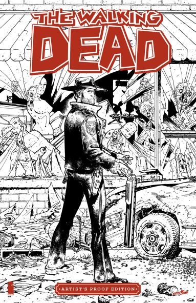 Image Giant-Sized Artist's Proof Edition: The Walking Dead #1