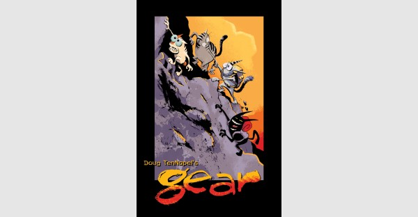 All-ages graphic novel GEAR celebrates a milestone with a new printing