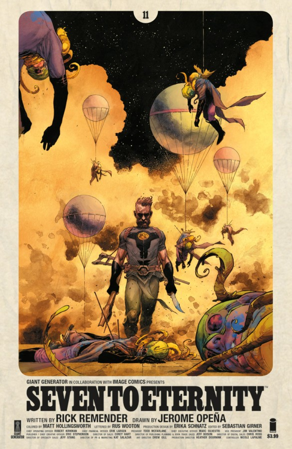 Seven to Eternity by Rick Remender