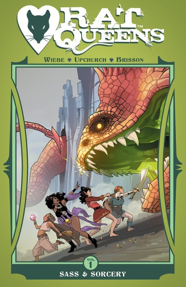 Rat Queens, Vol. 1: Sass and Sorcery TP