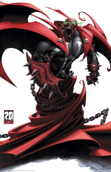 Spawn: 20th Anniversary Poster #4 (of 4)