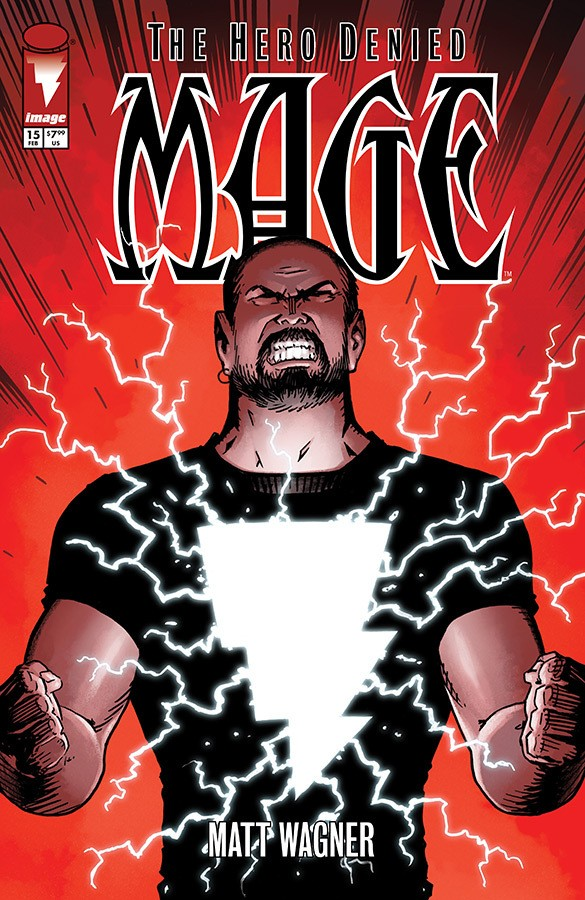 MAGE: THE HERO DENIED #15 Cover A by Matt Wagner