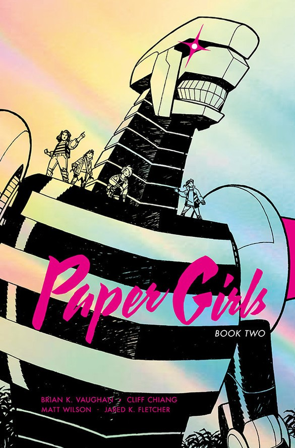 Paper Girls Deluxe Edition Book 2 Hardcover