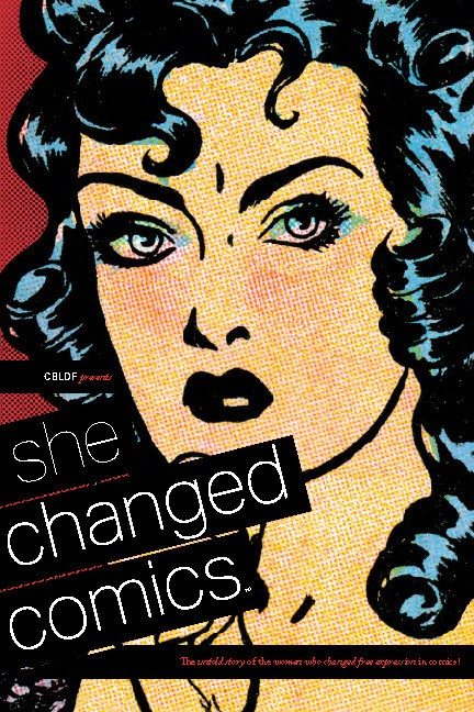 Pages from She Changed Comics
