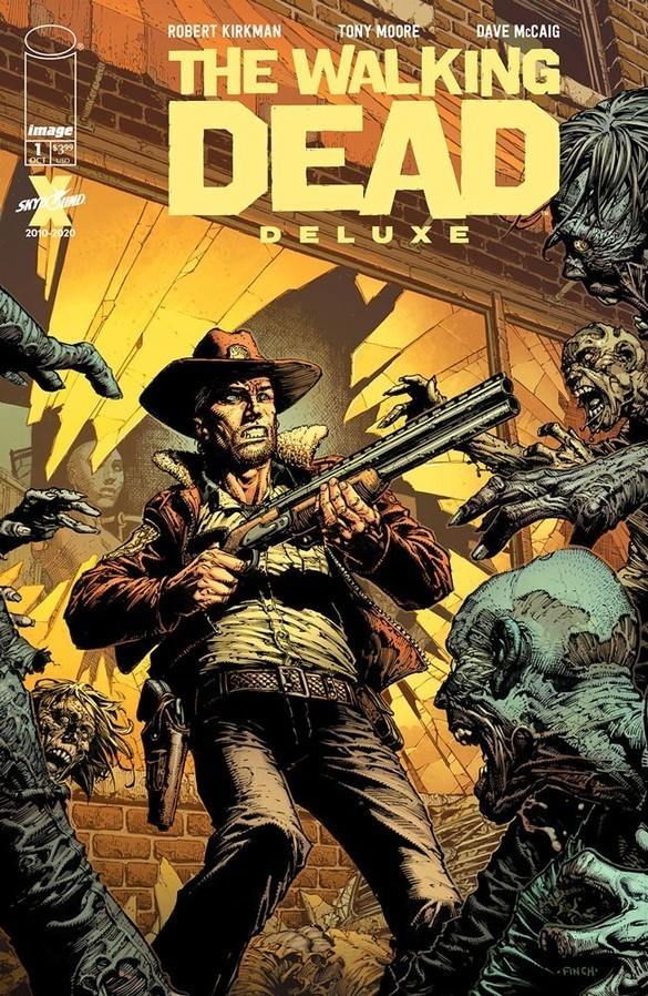 The walking dead deluxe 1 0640d274f9