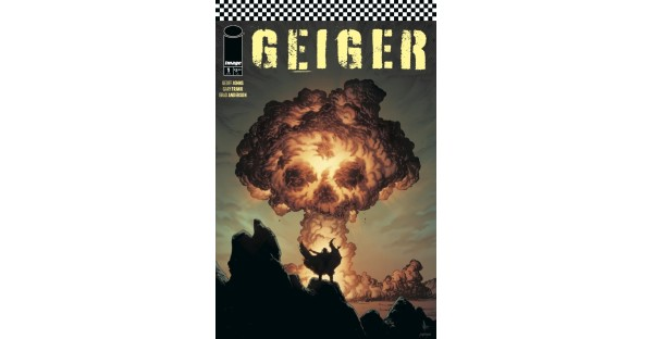 DOOMSDAY CLOCK'S GEOFF JOHNS & GARY FRANK RETEAM FOR GEIGER AT IMAGE COMICS THIS APRIL