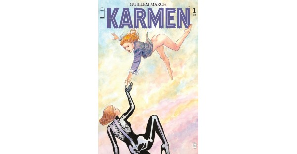 SEDUCTIVE NEW SERIES KARMEN LANDS MILO MANARA VARIANT