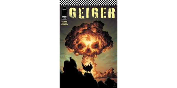 Don't miss GEIGER #1 by Geoff Johns & Gary Frank in stores Wednesday, April 7!