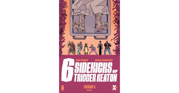 THERE'S A NEW MURDER MYSTERY IN TOWN WITH KYLE STARKS & CHRIS SCHWEIZER'S THE SIX SIDEKICKS OF TRIGGER KEATON