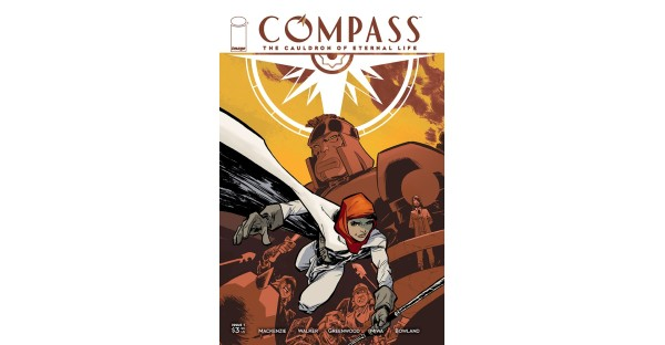 UPCOMING INDIANA JONES-ESQUE MINISERIES COMPASS WILL PUT ADVENTURE COMICS ON THE MAP THIS JUNE