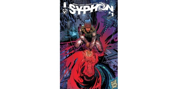 NEW FANTASY NOIR MINISERIES SYPHON TO LAUNCH FROM IMAGE/TOP COW THIS JULY