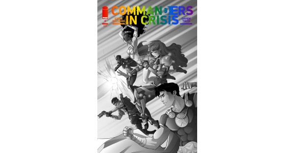 COMMANDERS IN CRISIS PRIDE MONTH VARIANT BY DAVIDE TINTO REVEALED