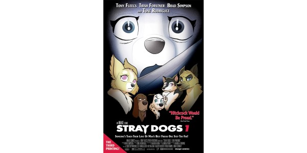 LAST WEEK'S HIGHLY ANTICIPATED STRAY DOGS #4  & STRAY DOGS #1 BOTH RUSHED BACK TO PRINT