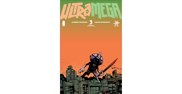 ULTRAMEGA #3 FIGHTS BACK TO A NEW SECOND PRINTING